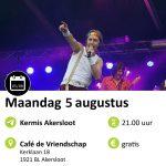 agenda 5 augustus