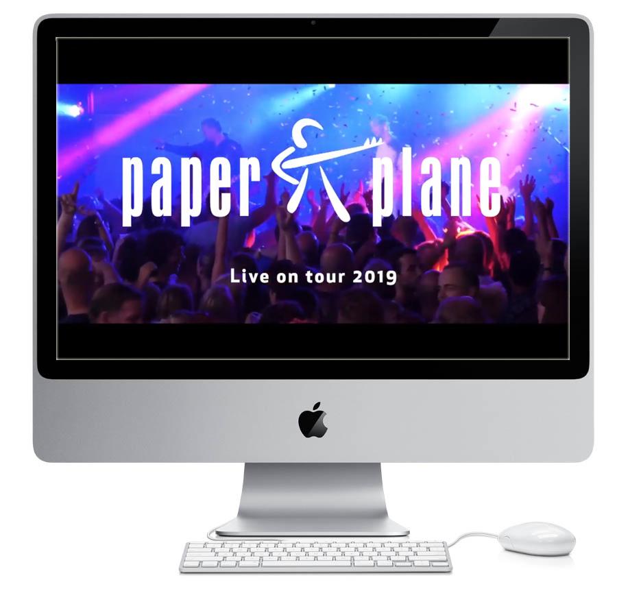 Promo Clip Paper Plane